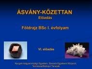 Asvanytan3 - Nyugat-magyarországi Egyetem