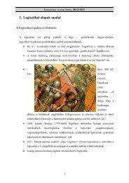 1. Logisztikai alapok modul
