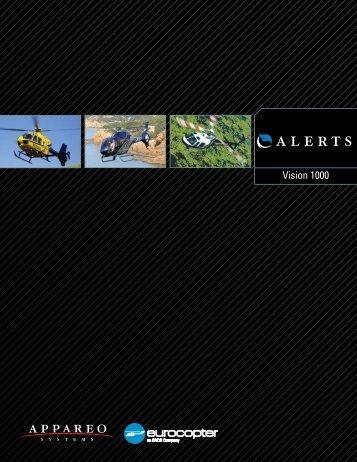 ALERTS Vision 1000 product brochure