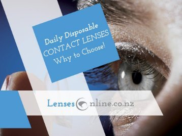 Shop at LensesOnline.co.nz – Buy 1-Day Contact Lenses Online