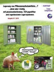 Leitfaden für die sichere und gesetzeskonforme Pflanzenschutzmittel