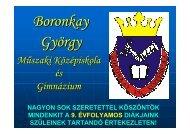 Mőszaki Középiskola és Gimnázium - Boronkay György Műszaki ...