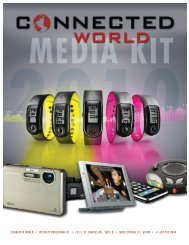 media kit - Connected World Magazine