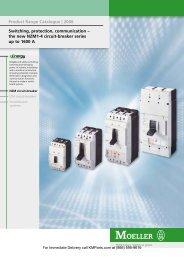 Product Range Catalogue  - Klockner Moeller Parts