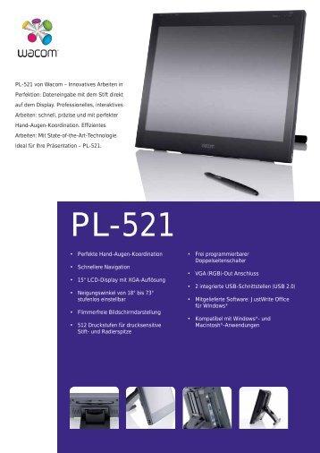 (De) 10327 PL-521 Datenblatt - Medium
