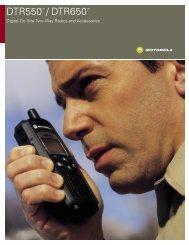 DTR550/DTR650: Do You Speak Digital? - ZTV Broadcast Services ...
