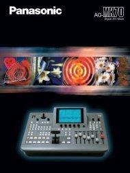 AG-MX70 Brochure - Panasonic FTP
