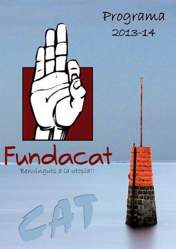 Programa 2013-14 FUNDACAT. - elsindi.cat