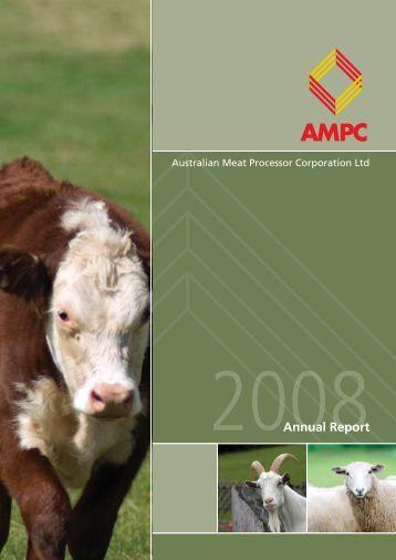 AMPC2008 Annual Report.indd - Australian Meat Processor ...