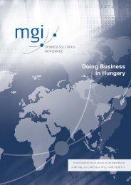 Hungary - MGI