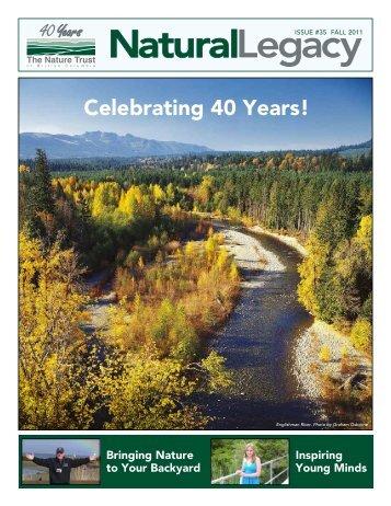 Fall Newsletter 2011 - Nature Trust of British Columbia