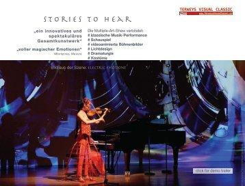 Fesselnde Fusion aus klassischer Musik und optischer Opulenz
