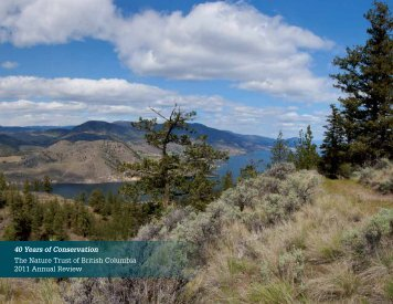 2011 Annual Report - Nature Trust of British Columbia
