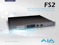 Dual Channel Universal HD/SD Audio/Video Frame ... - Fofic
