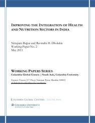Improving the Integration of Health and Nutrition Sectors in India