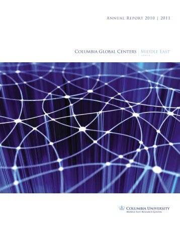 Annual Report 2010   2011 - Columbia Global Centers