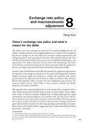 Exchange rate policy and macroeconomic adjustment 8 - Columbia ...