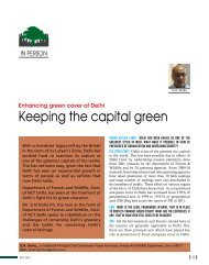 Keeping the capital green - Center for Urban Green Spaces