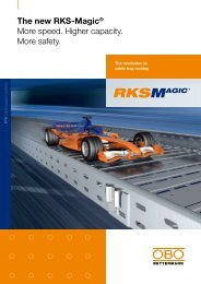 The new RKS-Magic® More speed. Higher capacity. More safety.