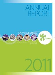 2011 Annual Report - TOM Group