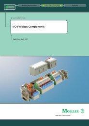 Catalogue I/O Fieldbus Components - Applied Automation