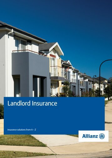 Landlord Insurance - Allianz Engage