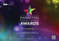 WINNERS 2012 - Marketing Excellence Awards