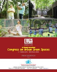 Proceeding Volume I - Center for Urban Green Spaces