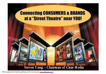 5th Singapore International Advertising Congress - Clear Media