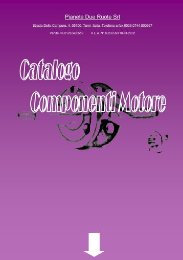 2010 CATALOGO MOTO X SITO -  Pianeta due ruote Srl