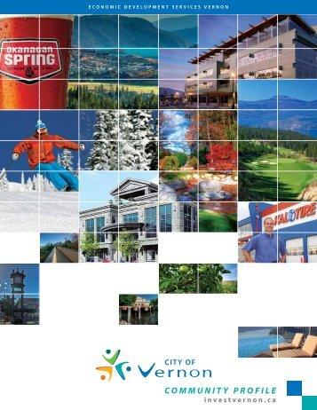 COMMUNITY PROFILE - City of Vernon Economic Development
