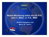 Market Monitoring within the PA PUC - Narucpartnerships.org