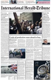 Crude oil production roars ahead in Iraq - The Global Journalism ...