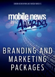 the benefits of branding at the mobile news awards