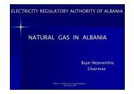 NATURAL GAS IN ALBANIA - Narucpartnerships.org