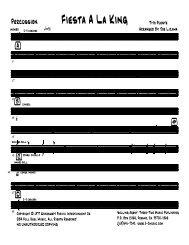 Finale 2006a - [Fiesta a la king - 013 Percussion.MUS]