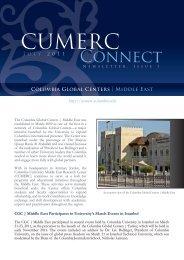 CUMERC - Columbia Global Centers - Columbia University