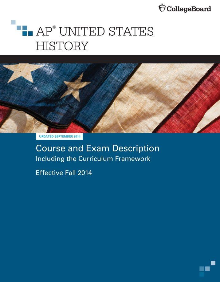 ap us history practice essays Apushreviewcom your total resource for advanced placement united states history review this website is the sole creation of adam norris and is not endorsed by the college board, ap, or any school district.