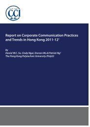 Corporate Communication Practices and Trends in Hong Kong 2011 ...