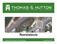 Roundabouts - Lowcountry Council of Governments