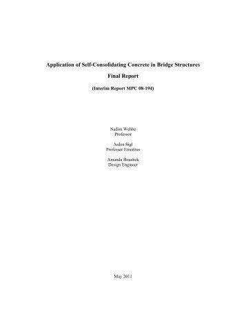 Consolidating concrete bridge structure applications