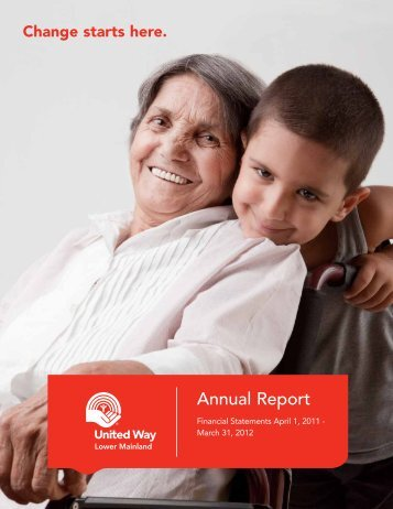 Annual Report - United Way of the Lower Mainland