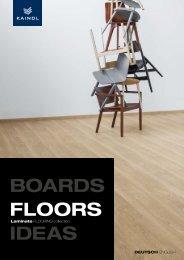 Kaindl Laminat flooring collection