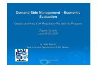 Demand-Side Management – Economic Evaluation – Partnerships
