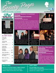 April 2012 - Society of Professional Women