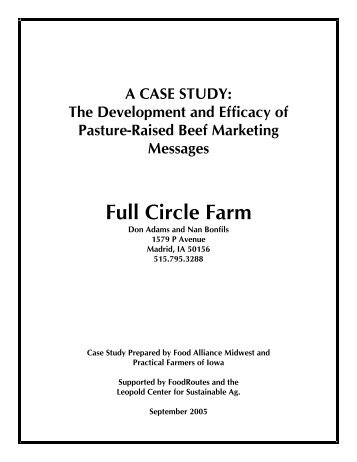 Full Circle Farm - Center for Integrated Agricultural Systems