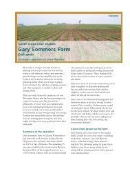 Gary Sommers Farm - Center for Integrated Agricultural Systems