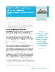 Good Earth Farms - Center for Integrated Agricultural Systems