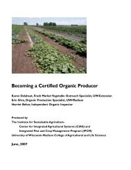 Becoming a Certified Organic Producer - Center for Integrated ...