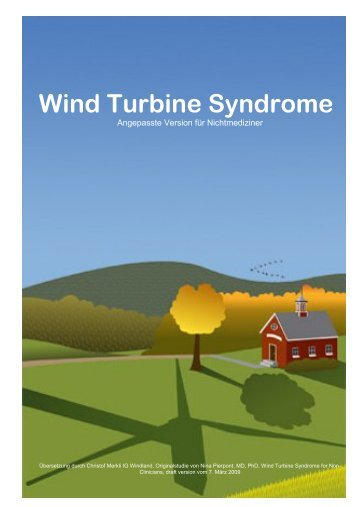 Wind Turbine Syndrome